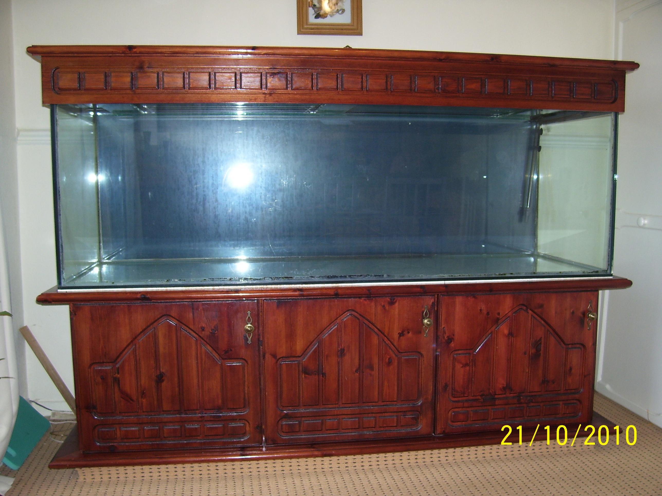 Aquarium fish tank sale uk - Large Fishtank 280ltrs And Cabinet 6ft X 2ft X 2ft 101_1146 Jpg