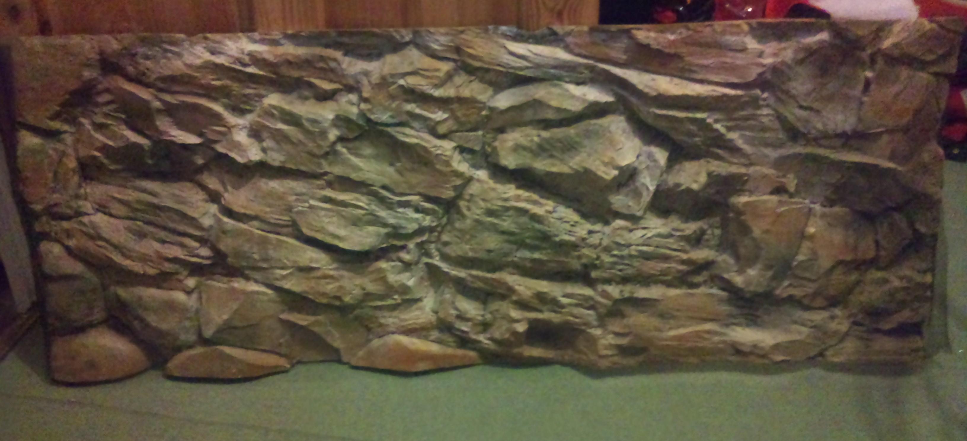 Fake Rock Face Build Dendroboard