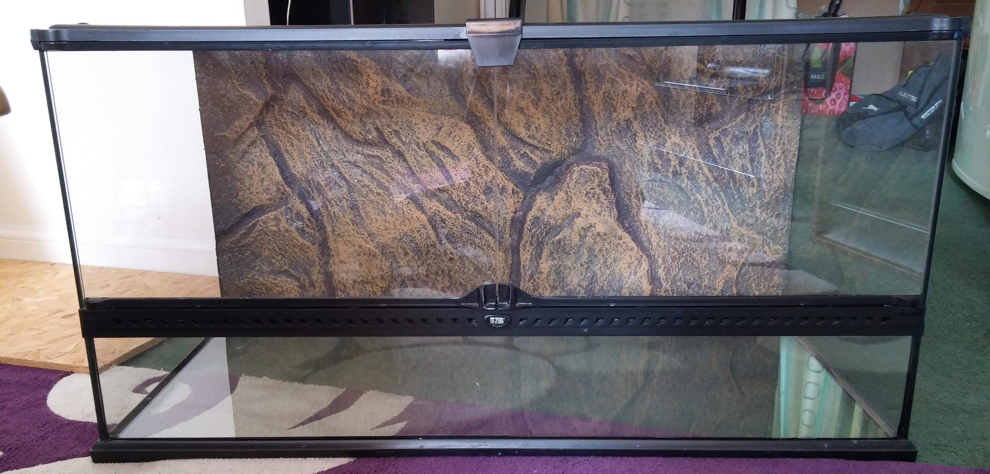 Exo Terra Glass Terrarium 90x45x45cm in extremely good condition-exo-terra-1.jpg