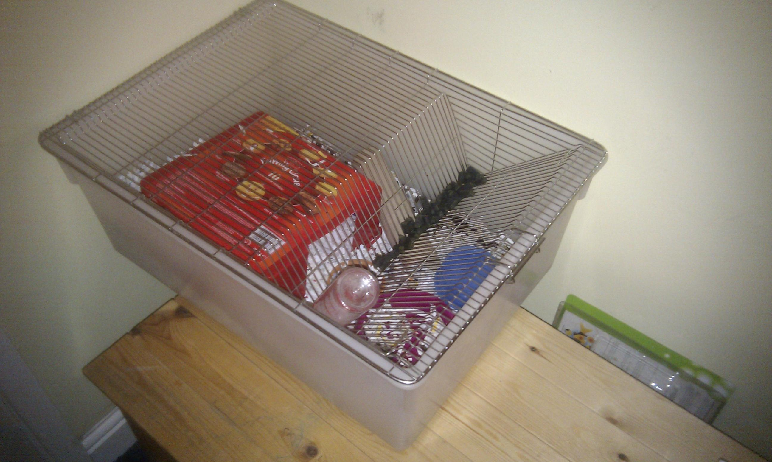 Eastern Lucky reptile rodent cage - Large - Reptile Forums
