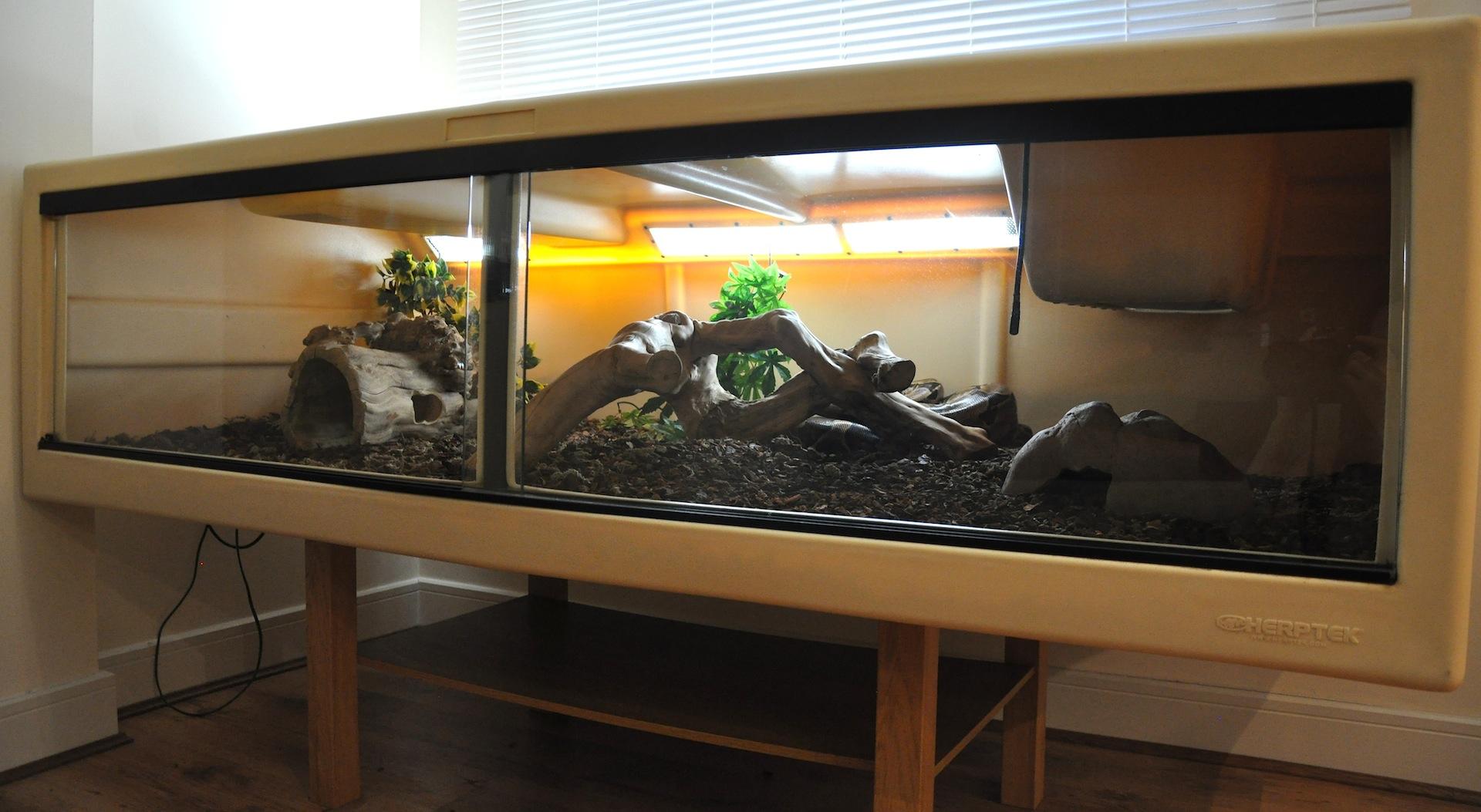 Reptile Forums View Single Post Se England The Biggest Herptek Viv Full Set Up For Sale